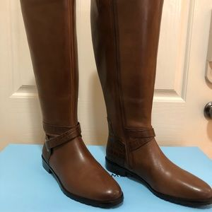 Antonio Melani Wide Calf Boots real leather